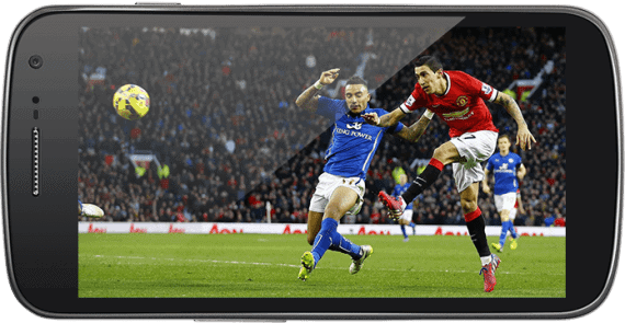 Watch football on Android