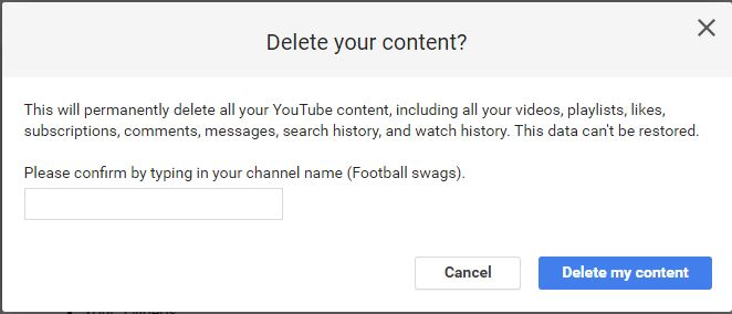 How to delete YouTube Chanel on Phone