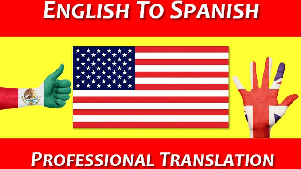 To Translate In Spanish