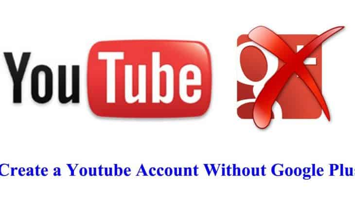 How To Create Youtube Account Without A Google Account