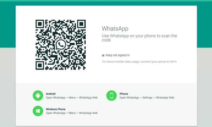 Login to WhatsApp Account