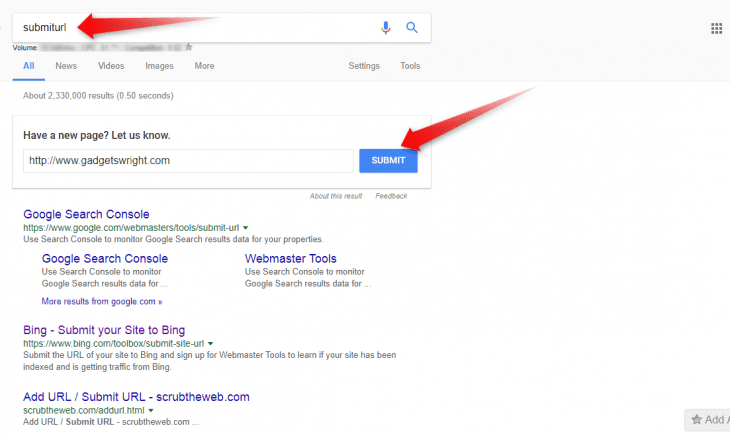 SubmitURL: How to Get Google to Index Your New Blog Posts