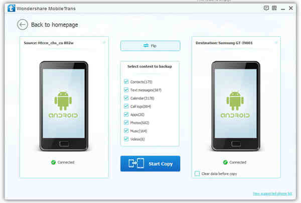 How to Transfer contacts from Android to Android phone