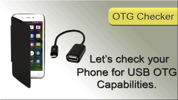 USB OTG Checker