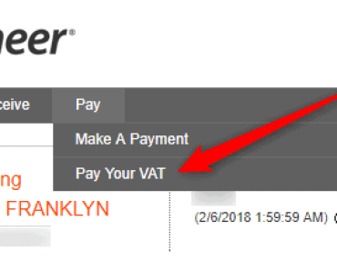 Pay my VAT using Payoneer