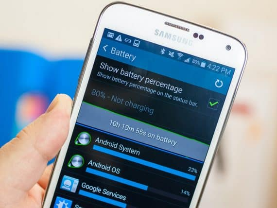 Samsung Galaxy S5 Battery Life