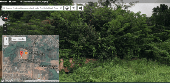Find Unknown Addresses with Google Map Street View