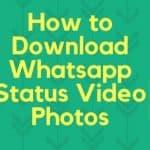 "How to Download WhatsApp Status ""2020"" Tricks"