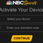 How to Activate the NBCSports App on Roku and a Smart TV