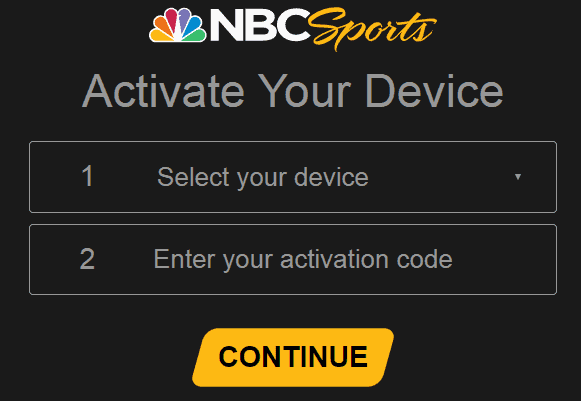 NBCsports.com/activate