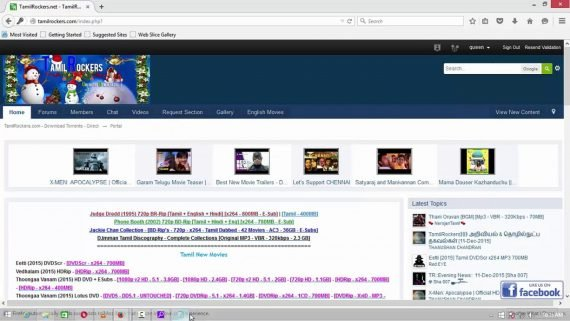 Tamilrockers websites