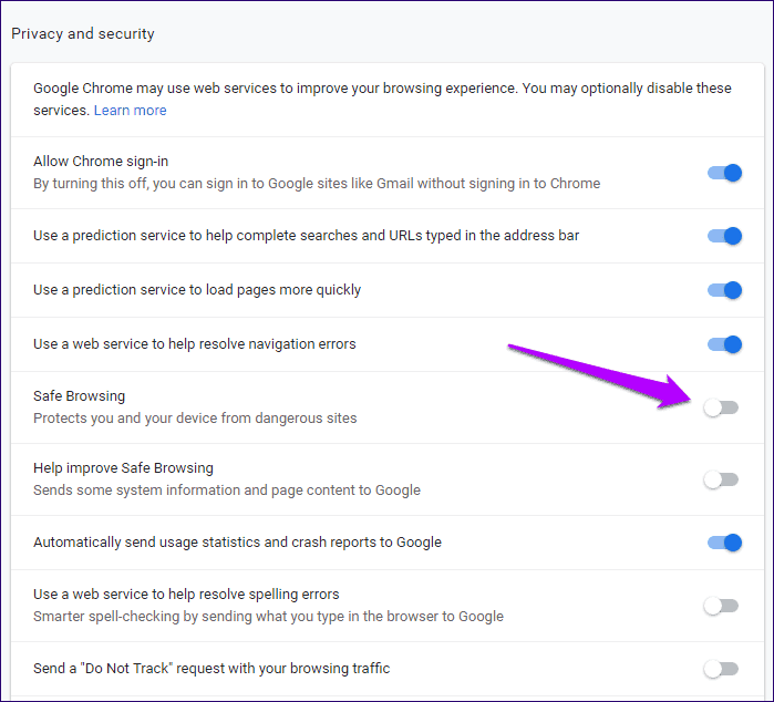 Chrome Blocked Download