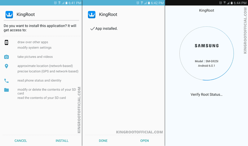Kingroot APK All Official Versons Download for Android