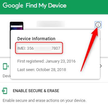 Find Samsung IMEI Online