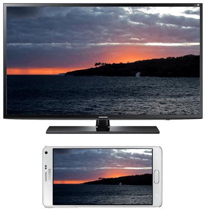 Mirror Samsung Screen to Smart TV