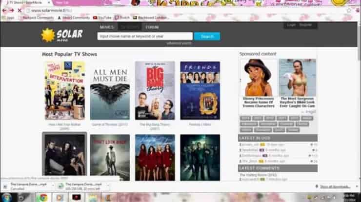 19 SolarMovie Alternatives to Download Movies for free