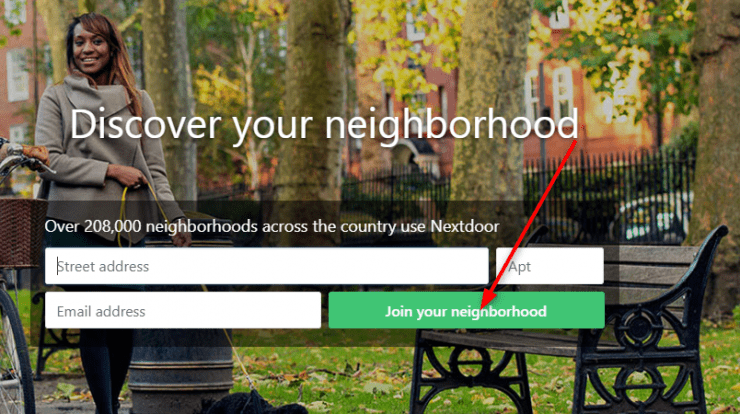Nextdoor.com/join