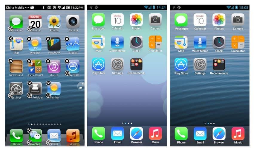 iOS Launchers