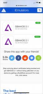 Trust iOS emulator