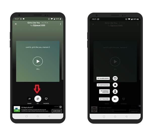 Create and personalize ringtone