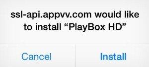 Install playbox HD
