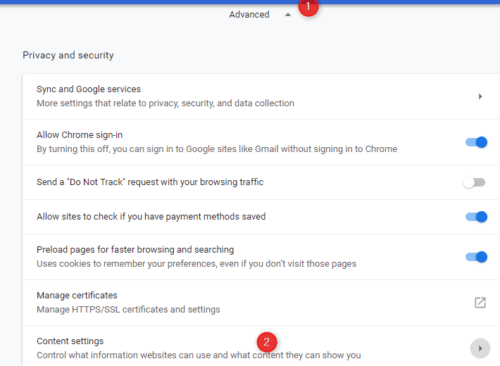 Access Chrome Extensions
