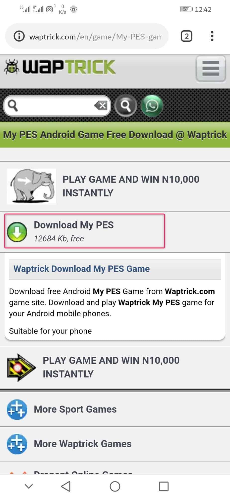 www waptrick com: Download Games, videos, MP4, 3gp - Gadgets