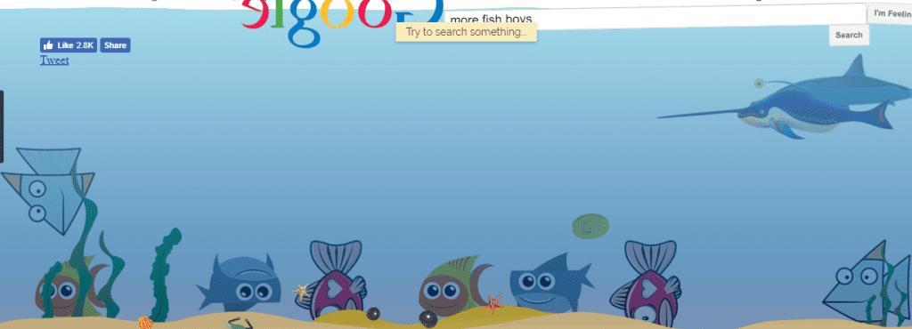 Google trick underwater