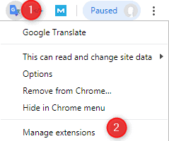 cannot access chrome plugins