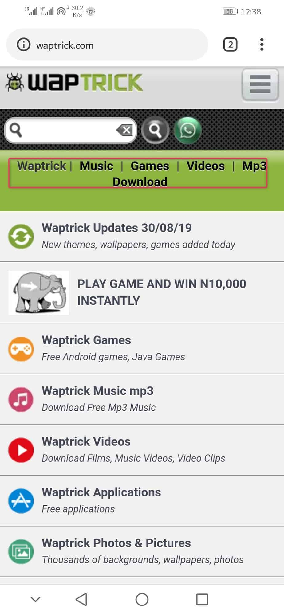 www waptrick com: Download Games, videos, MP4, 3gp - Gadgets