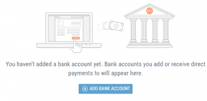 Add bank account to Payoneer