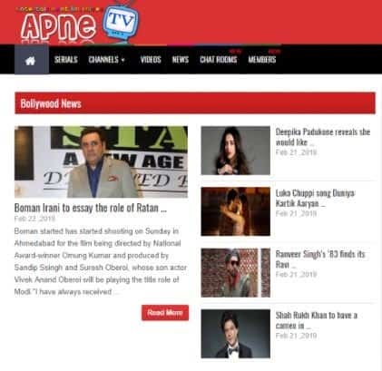 Download Apne TV app to Stream Movies on Android - Gadgets Wright