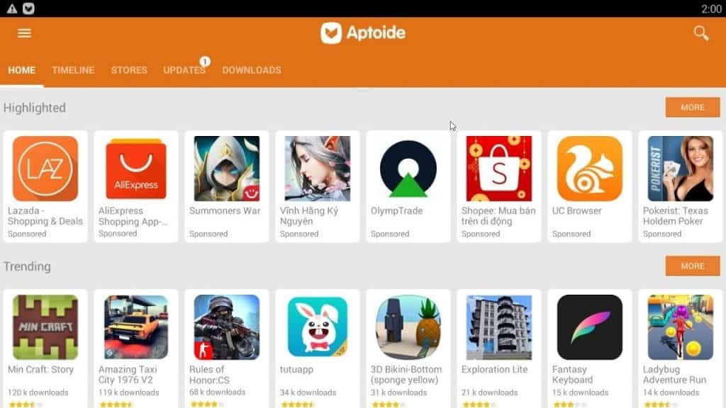 Download Aptoide on Huawei