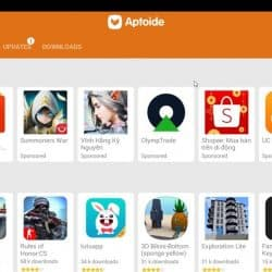 Download Aptoide on Huawei