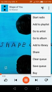 How to buy music in play store