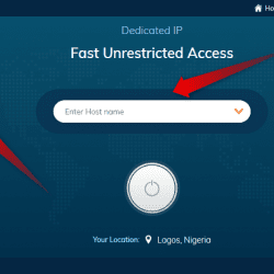 Set up dedicated IP address