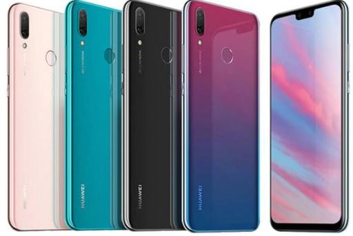 How to take screenshots on Huawei Y9