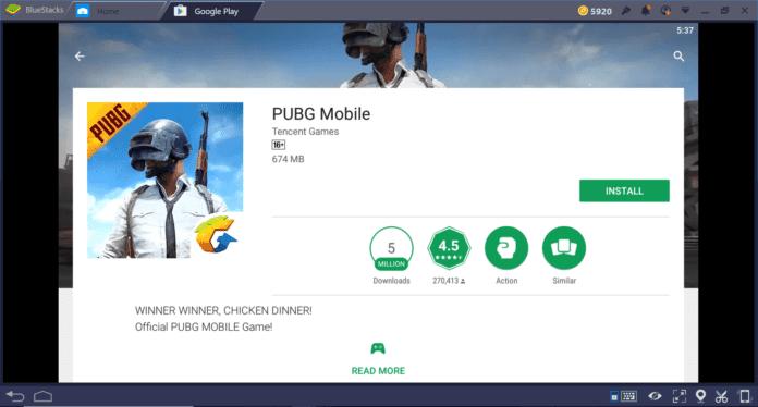 Install Pubg Mobile