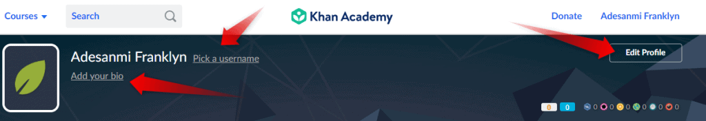 Khan academy login