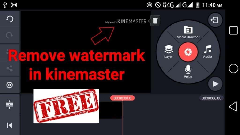 Remove KineMaster WaterMark
