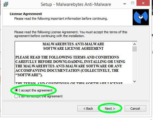 Malware bytes terms and condition