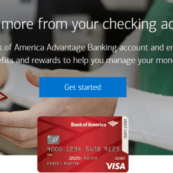 Open Bank of America online account