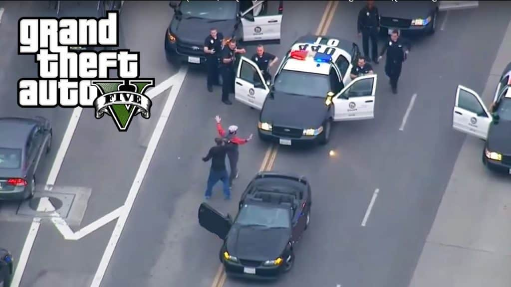 How to stop the police from chasing your in GTA 5