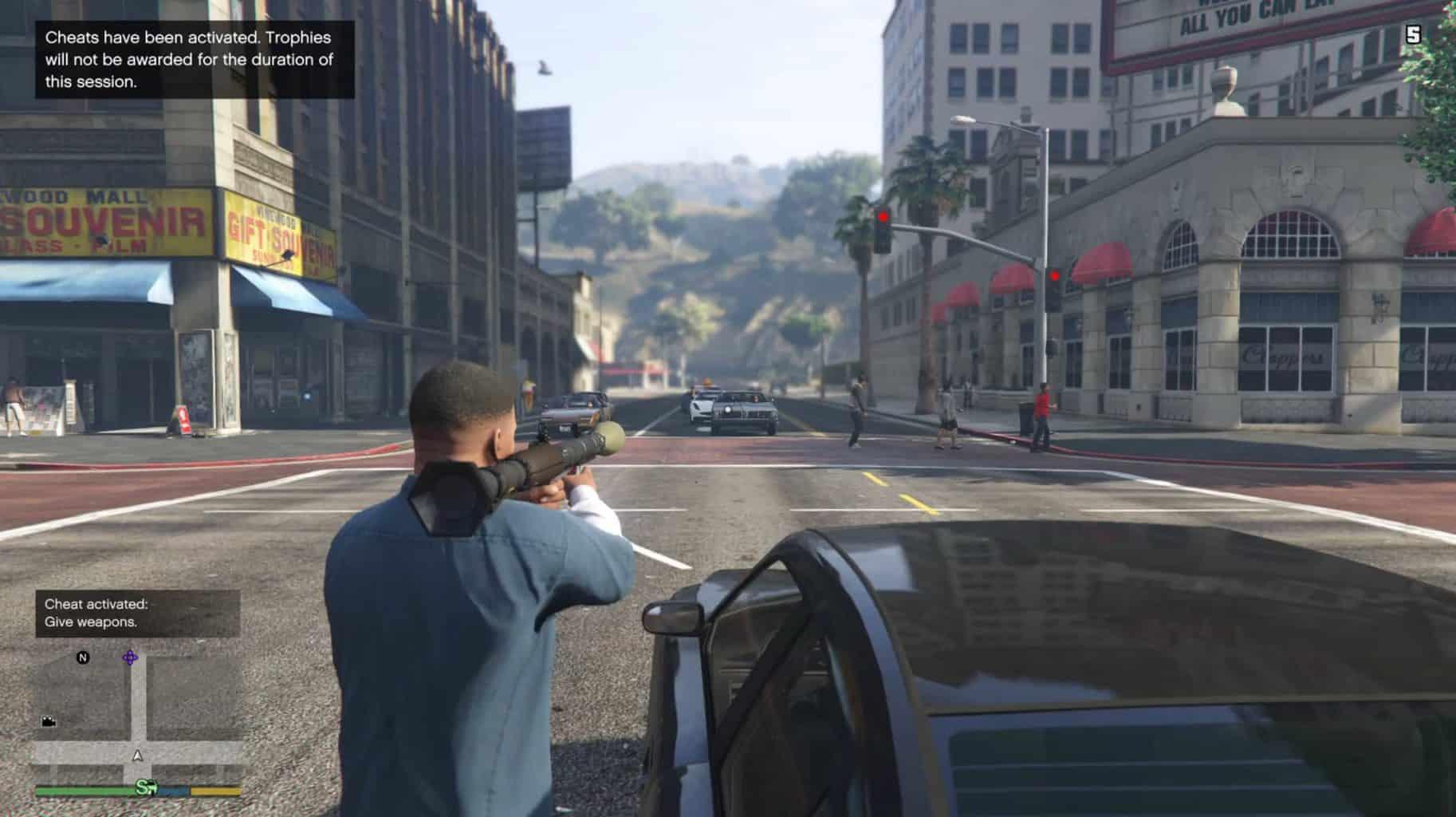 GTA V Xbox One Cheats