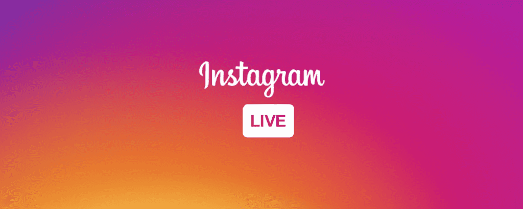 Instagram live streaming