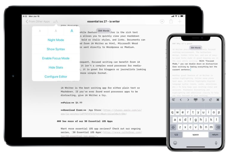 iAWriter for Android