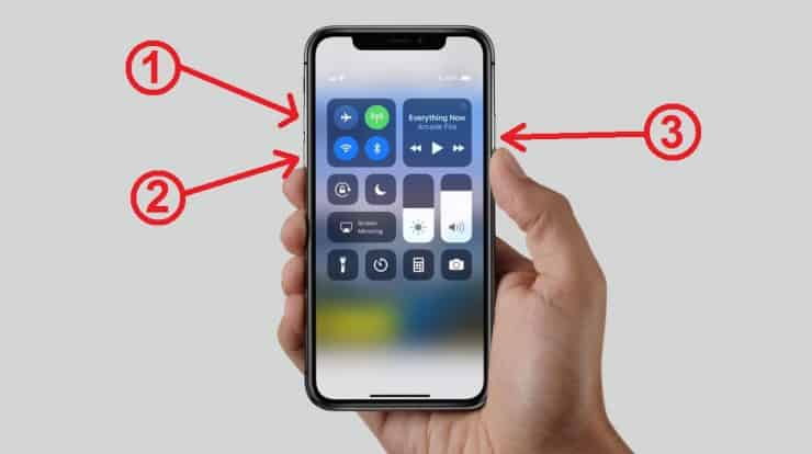 iPhone X won't turn on