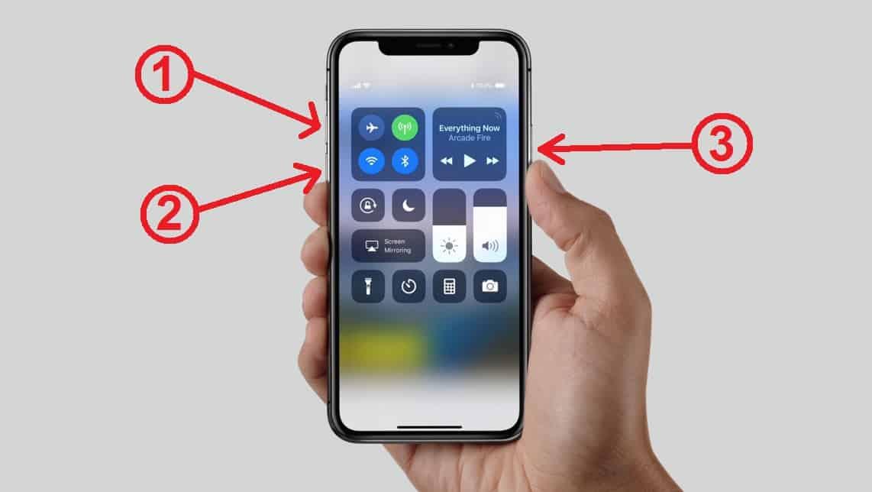 iPhone X won't turn on