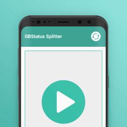 split video for WhatsApp status GB Status Splitter App