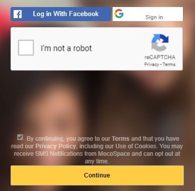 How to Recover Mocospace Login Password - Gadgets Wright